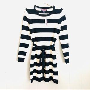 Vineyard Vines Stripe Frost nautical sweater dress